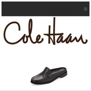 COLE HAAN COUNTRY LEATHER MULES